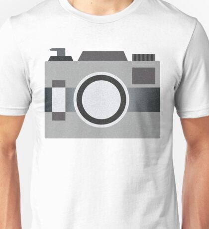 Retro Old-time Camera, Gray Unisex T-Shirt