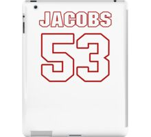 NFL Player Ben Jacobs fiftythree 53 iPad Case/Skin