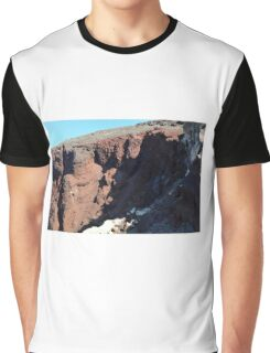 30 September 2016 The Red Beach on the Greek Island of Santorini Graphic T-Shirt