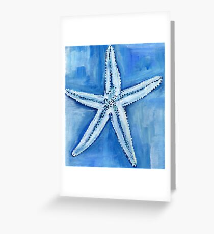 Starfish blues Greeting Card