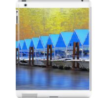 Blue and Gold iPad Case/Skin
