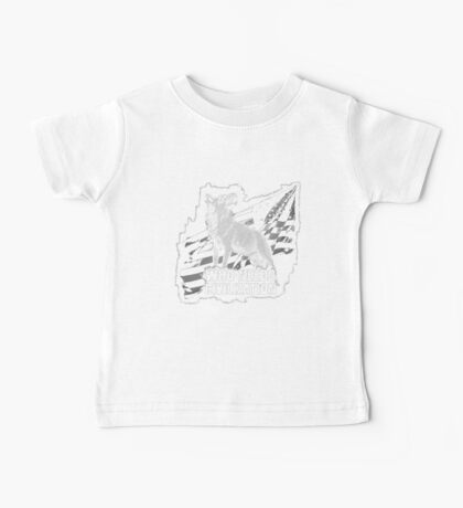 Who Needs Civilization - The American Wolf Baby Tee