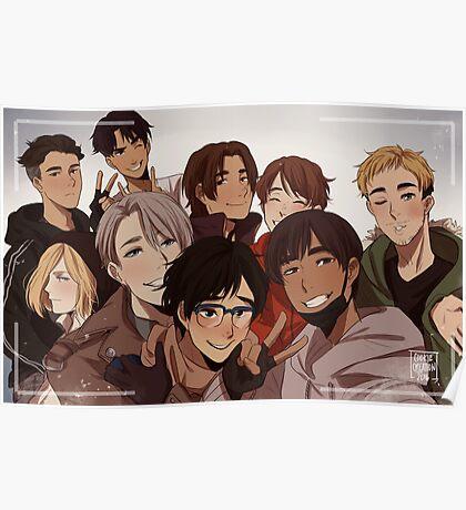 Yuri on Ice Selfie Poster