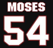 NFL Player Dezman Moses fiftyfour 54 by imsport