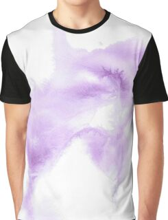 Watercolour Whispers in Purple Graphic T-Shirt