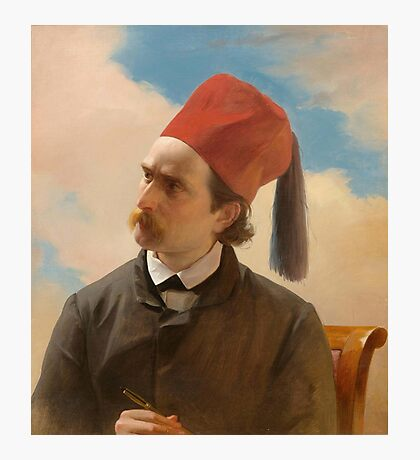 FRENCH SCHOOL, MID 19TH CENTURY Portrait of a scholar. Photographic Print