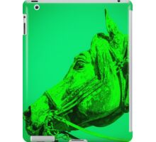 The Dark Green Horse iPad Case/Skin
