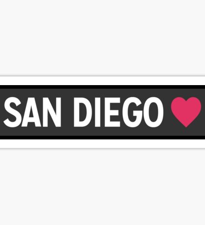 San Diego CA Sticker
