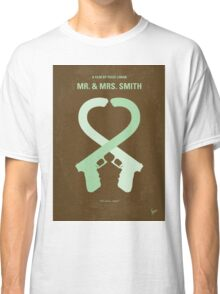 No187 My Mr. and Mrs. Smith minimal movie poster Classic T-Shirt