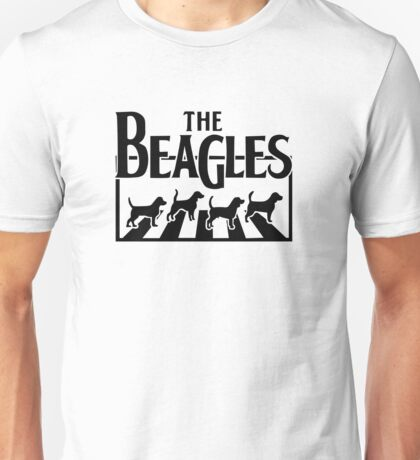 The Beagles The Beatles Funny Humour Unisex T-Shirt