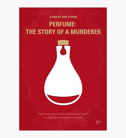 No194 My Perfume The Story of a Murderer minimal movie poster Photographic Print