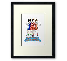 Orange Caramel - Catallena  Framed Print