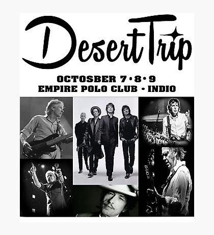 Desert Trip 1 Photographic Print
