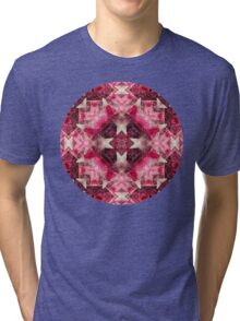 Crystal Matrix Mandala Tri-blend T-Shirt