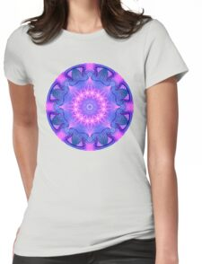 Dream Star Mandala Womens Fitted T-Shirt