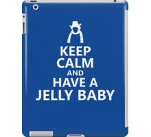 Tom Baker Keep Calm and Have a Jelly Baby iPad Case/Skin
