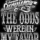 THE ODDS WERE IN MY FAVOR by Penelope Barbalios
