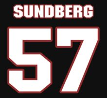 NFL Player Nick Sundberg fiftyseven 57 by imsport
