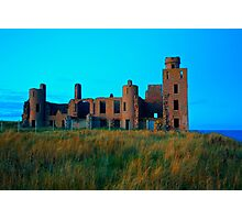 New Slains Castle (Cruden Bay, Aberdeenshire, Scotland) Photographic Print