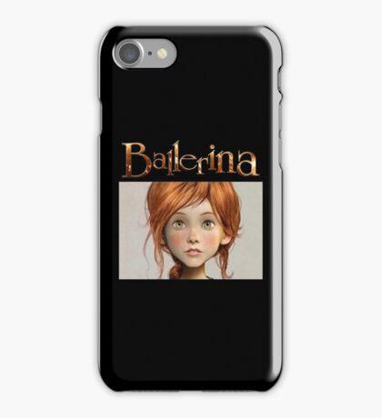 ballerina love iPhone Case/Skin