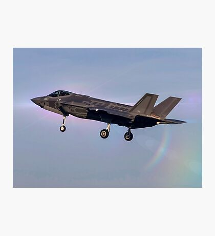 Israeli Air Force Lockheed Martin F-35 (Adir)  Photographic Print