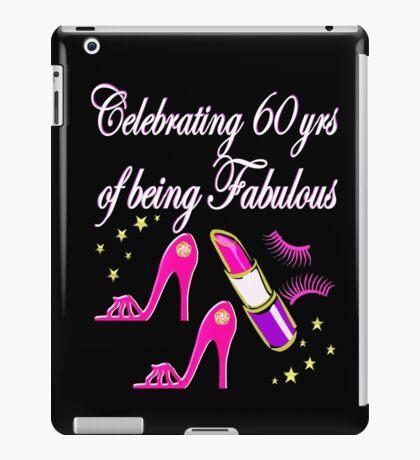 CELEBRATING 60 YEARS AS A DIVA iPad Case/Skin