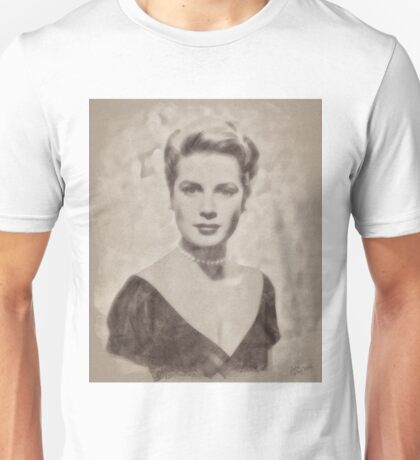 Grace Kelly, Vintage Hollywood Actress Unisex T-Shirt