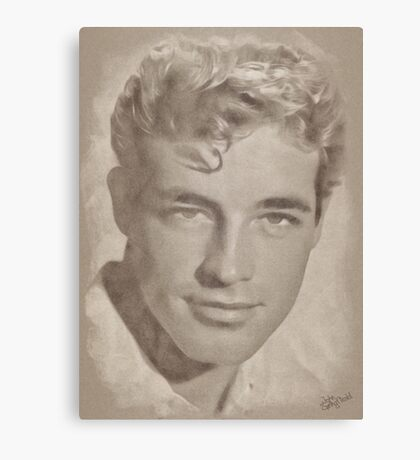 Guy Madison, Vintage Hollywood Actor Canvas Print