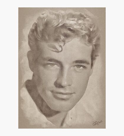 Guy Madison, Vintage Hollywood Actor Photographic Print