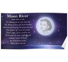 Moon River Poster + T-shirt Poster