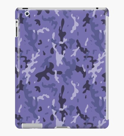 Camouflage navy pattern iPad Case/Skin