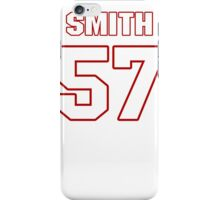 NFL Player Keith Smith fiftyseven 57 iPhone Case/Skin
