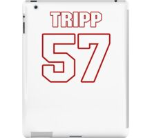 NFL Player Jordie Tripp fiftyseven 57 iPad Case/Skin