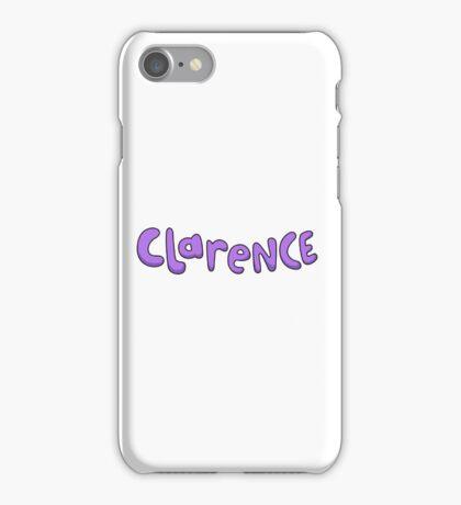 Clarence logo  iPhone Case/Skin