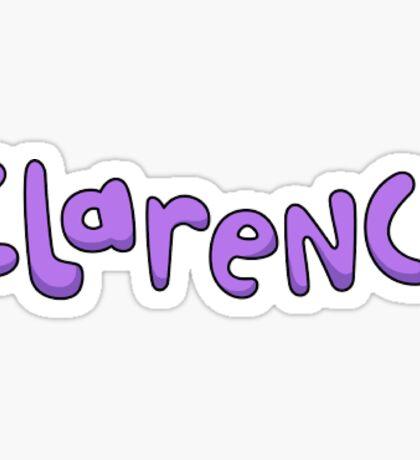 Clarence logo  Sticker