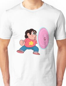 steven universe rose shield  Unisex T-Shirt