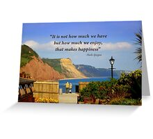What a View! Greeting Card