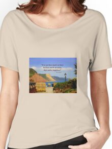 What a View! Women's Relaxed Fit T-Shirt