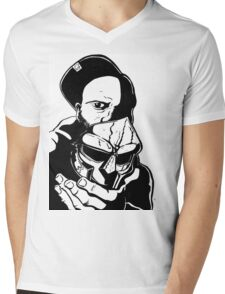 MF DOOM Mens V-Neck T-Shirt