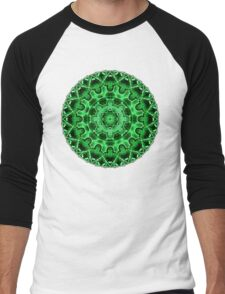 Gem Star Mandala Men's Baseball ¾ T-Shirt