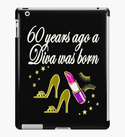 GOLD 60 & FABULOUS DAZZLING DIVA DESIGN iPad Case/Skin