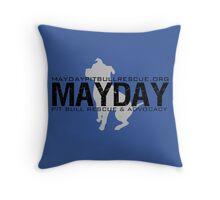 Blue Pillows and Totes Throw Pillow