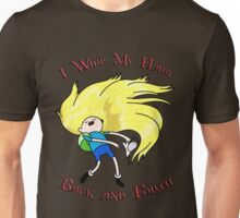 I Whip My Hair Back and Forth (Adventure Time) Unisex T-Shirt