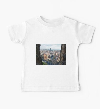 Barcelona From Sagrade Familia Baby Tee