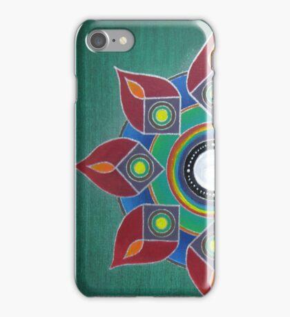 Introvert ~ Mandala on Canvas iPhone Case/Skin