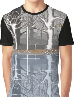 Forest reflections Graphic T-Shirt