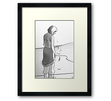 Be strong, Korra Framed Print