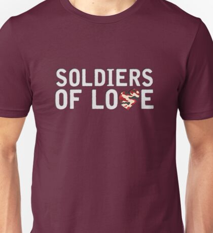 Lighthouse X - Soldiers of Love [2016, Denmark] Unisex T-Shirt