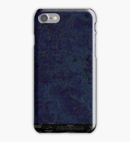 USGS TOPO Map California CA Childs Hill 20120217 TM geo Inverted iPhone Case/Skin
