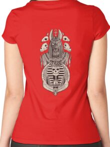 Anubis. Women's Fitted Scoop T-Shirt